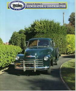 1934-Chevrolet-Master-Sport-Sedan-Generator-amp-Distributor-Magazine-Volume-47
