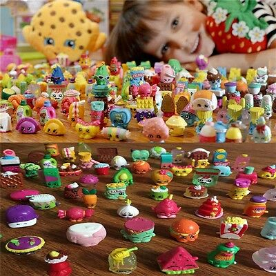 Random 30/50/100 Pcs Lot of  Shopkins of Season 1-5 RANDOMLY Loose Doll Toys AU