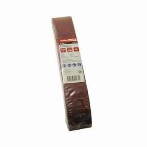 Kress Black /& Decker 30 abrasifs schleifband 65x410 mm grain p80 pour AEG