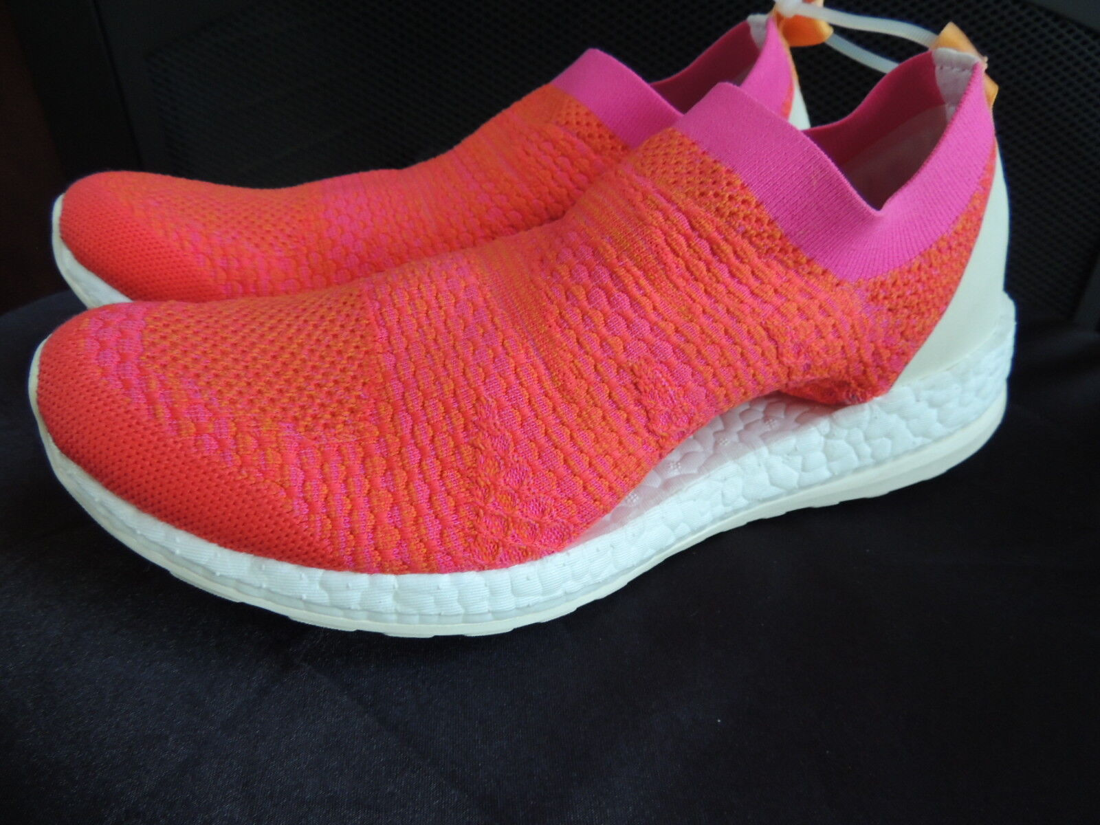 NEW Womens Size 8  ADIDAS STELLA MCCARTNEY  Pure Boost X Coral Running shoes