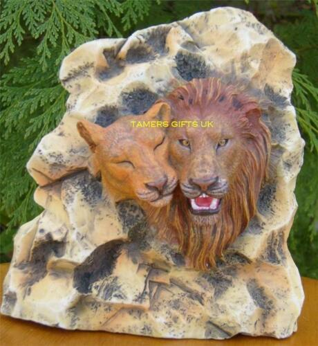 Leonardo Lion /& Lioness Wall Plaque Birthday Gift New