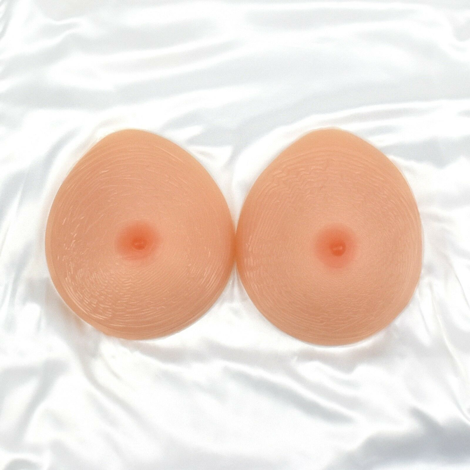 Cup D Premium Quality Silicone Breast Forms Fake Boobs Wide Full Cup