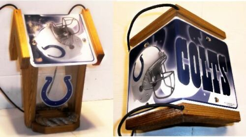 "NFL CEDAR SPORT BIRD FEEDERS /""Who/'s Your Team?/"" by Sporty Crafts"