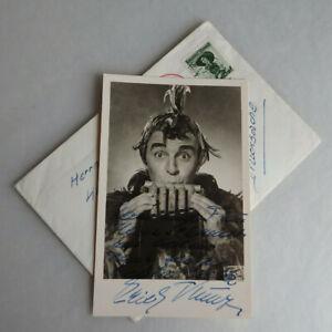 Autogramm Erich Kunz österreichischer Opernsängerin 1957 (74858)