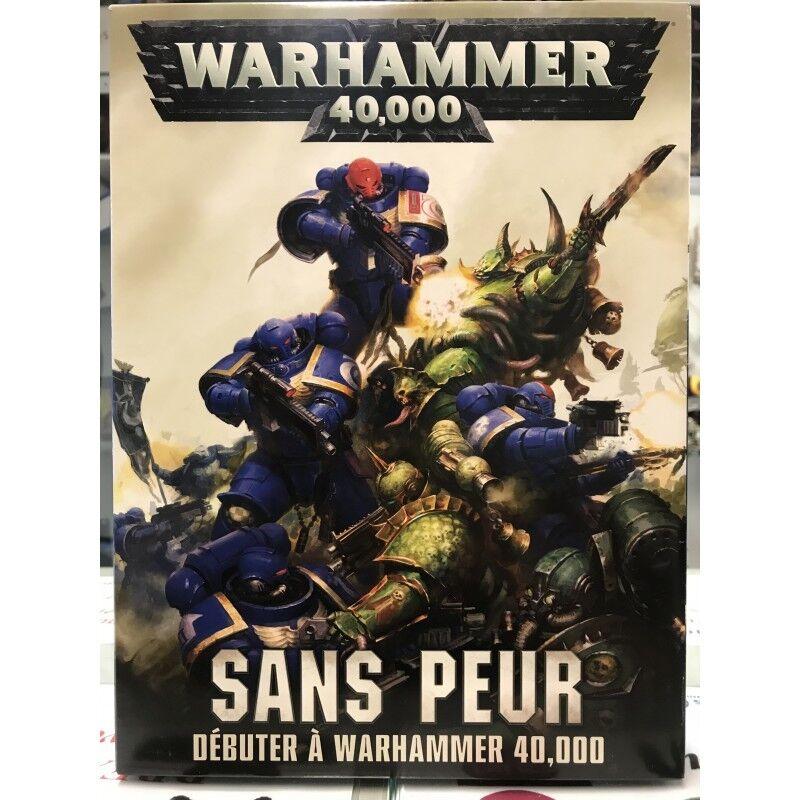 WARHAMMER Sans Peur Une boite de base Warhammer 40 000