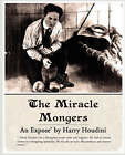 The Miracle Mongers, an Expose' by Harry Houdini (Paperback / softback, 2008)