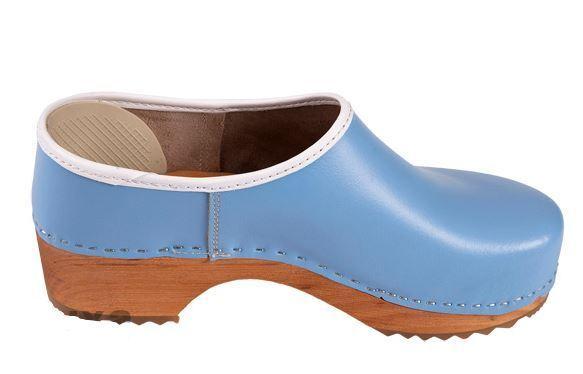 Zuecos de madera cerca de estilo sueco ZF1 Color de Color ZF1 azul tamaño zapato de Estados Unidos (mujer) 5c3165