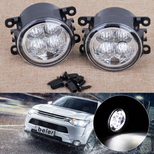 2stk LED Nebelscheinwerfer Nebel Licht für Ford Focus Acura Honda Subaru Nissan