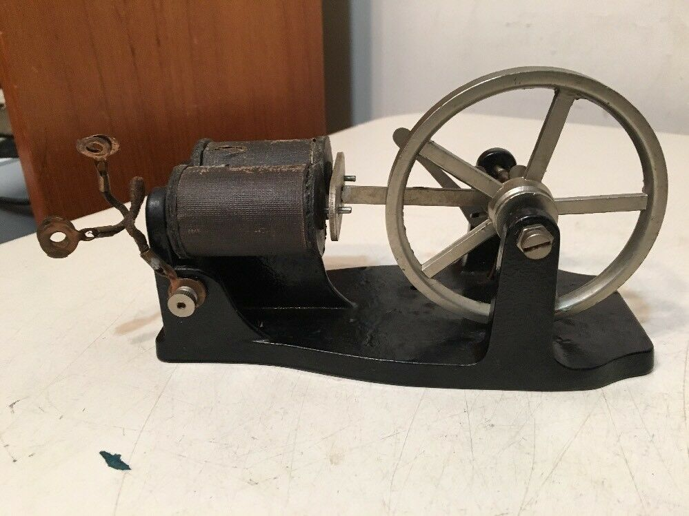 Rare Antique Toy Electric Motor Or Generator Like Steam