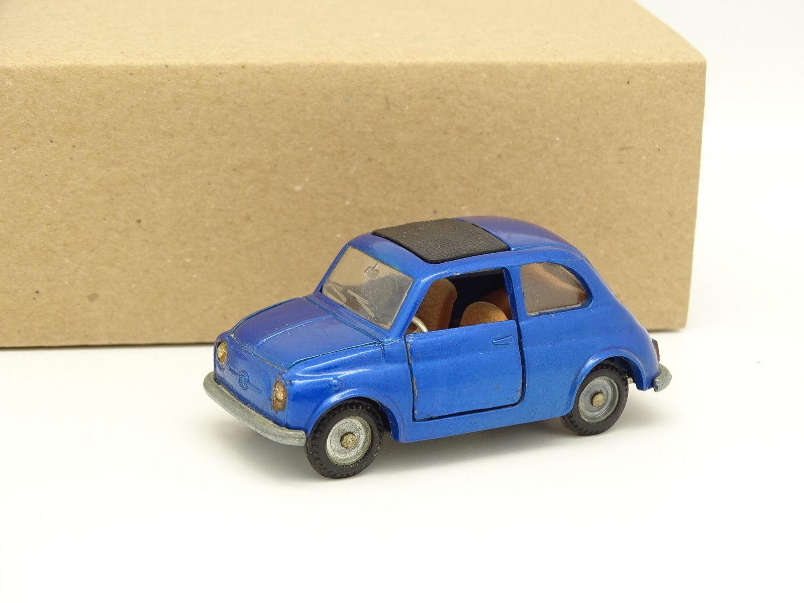 disfrutando de sus compras MebeJuguetes 1 43 - Fiat Fiat Fiat Nuova 500 Azul A36  promociones de equipo