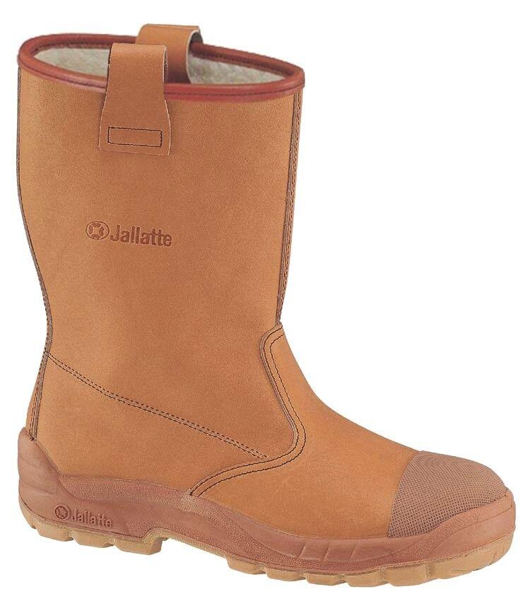 SIZE 8 - 42 JALLATTE JALARTIC CAP like jalaska SAFETY TOE CAP RIGGER BOOTS J0400