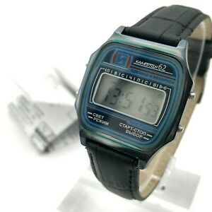 KAMERTON-62-Chameleon-Digital-Calendar-Integral-Watch-Alarm-Melody-NEW-Chrono