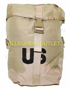 US Military Molle DCU Desert Camouflaged SUSTAINMENT UTILITY POUCH NEW