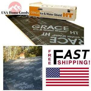 Grace Ice Water Shield HT Fully-Adhered Smooth Surface Roofing ...