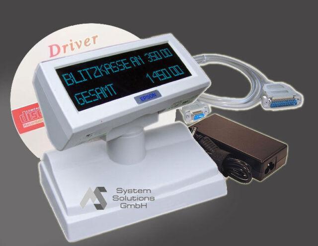 Epson Kundendisplay USB DM-D110-102 mit Kassen Monitorhalterung