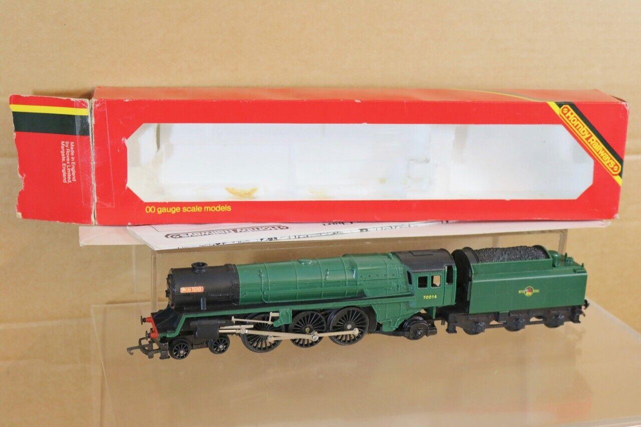 HORNBY R056 BR GREEN 4-6-0 BRITANNIA CLASS LOCO 70014 IRON DUKE MINT BOXED ns