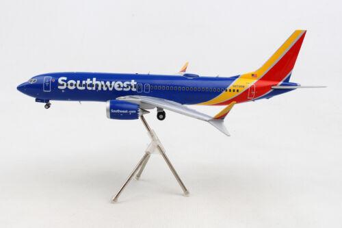 New GEMINI200 Southwest Boeing 737 MAX 8 G2SWA757 1//200 REG# LN-MAX