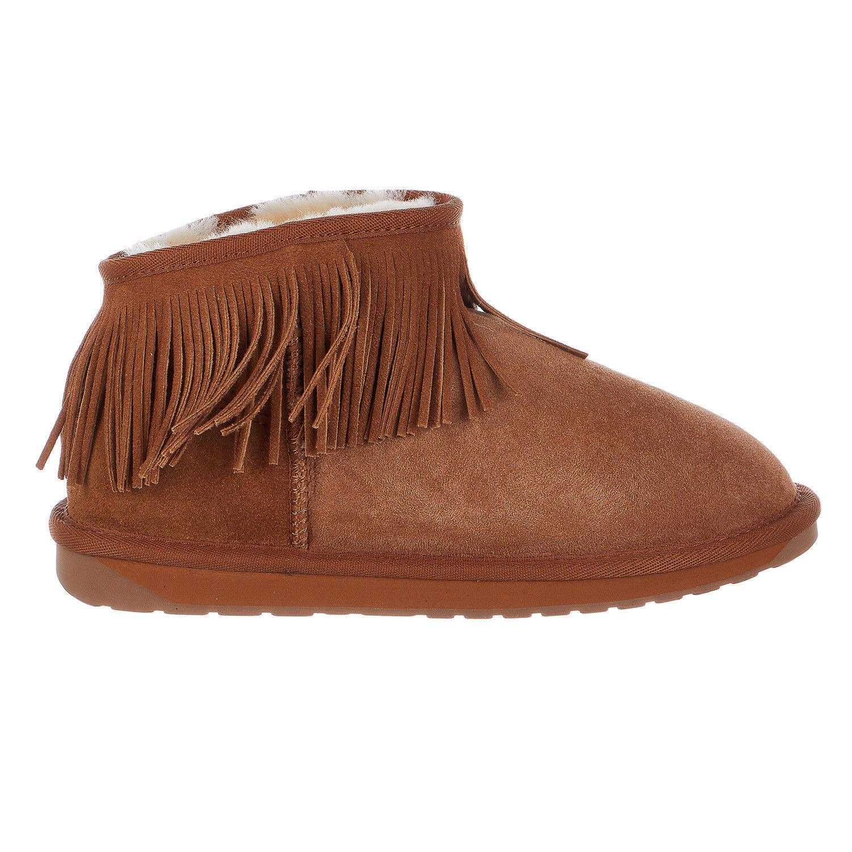 EMU Australia Nieve Invierno botas botas botas de piel de oveja de cascada-Mujer  tienda en linea