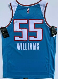 size 40 5f502 c45da Details about JASON WILLIAMS SIGNED SACRAMENTO KINGS CITY EDITION JERSEY  WHITE CHOCOLATE BAS
