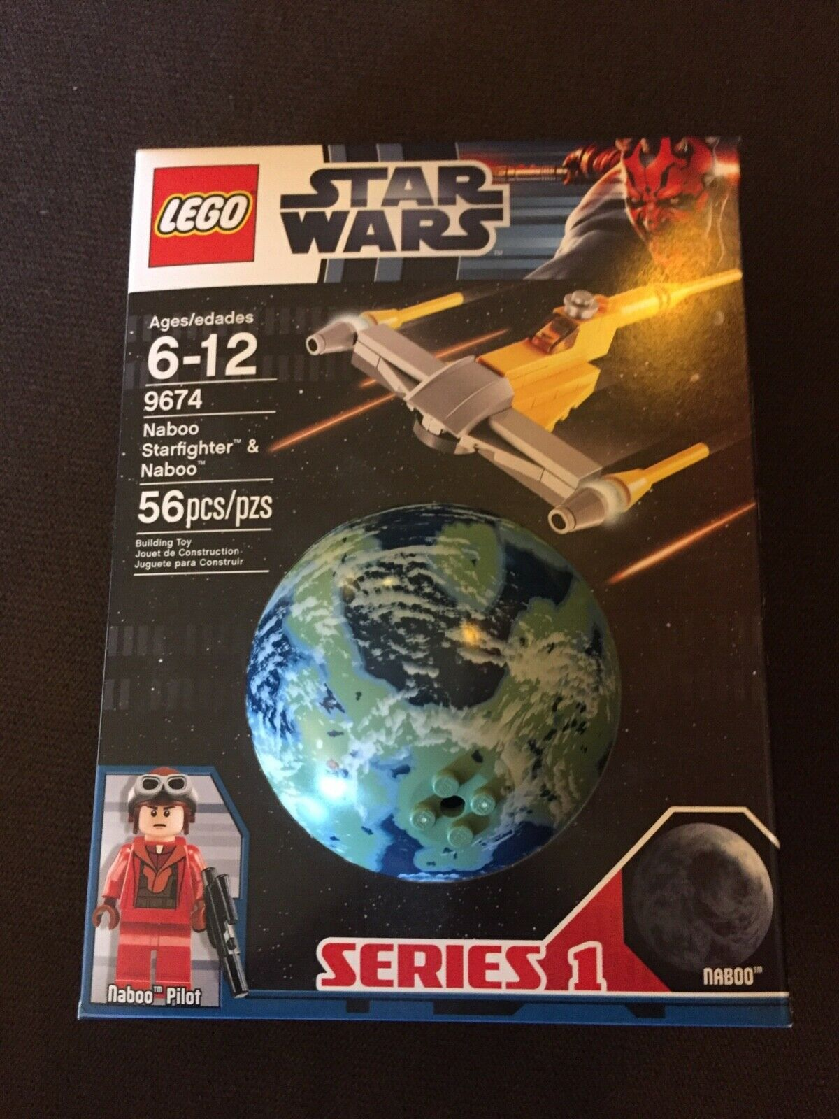 LEGO Star Wars 9674. Series 1. Brand new. Factory sealed. Retired LEGO