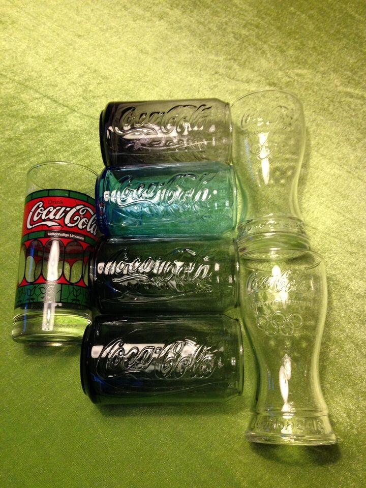 Coca Cola, Særlige Cola glas