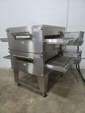 2013 Xlt Model 3240 Double Stack Electric Pizza Ovens 32 Belt Width 208v