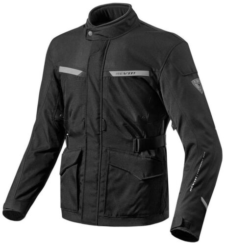 Motorcycle Textil Jacket REV'IT Enterprise / Black - size XL