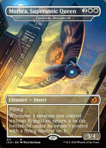 Supersonic Queen x1x Ikoria NM MtG Mothra Godzilla Variant