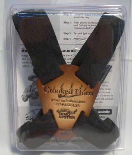 Crooked Horn Slide//Flex Bino Binocular System Black Strap Hunting//Bird Watching