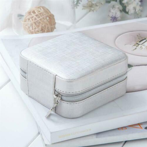 Details about  /Jewelry Necklace Earrings Rings Storage Box Easy Organization Portable Case