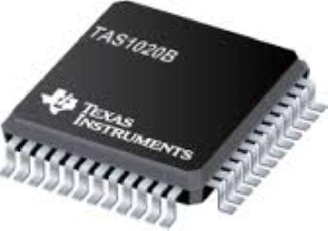 1x TAS1020B SMD SMT IC USB Streaming Controller//USB Audio Interface Chip TQFP-48