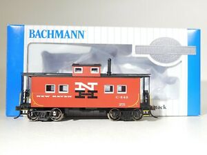 Brand-New-Bachmann-HO-Scale-New-Haven-Northeast-Steel-Caboose-16820-TOTES1