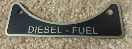 Diesel Tankdeckel Hals Warn Metall Abzeichen 502951 Land Rover Serie 2 2a 3