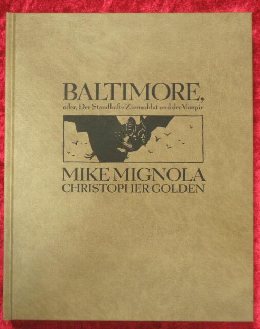 Baltimore, oder der standfeste Zinnsoldat und der Vampir M. Mignola lim. 37/100