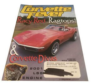 Corvette Fever  Magazine - October 2000