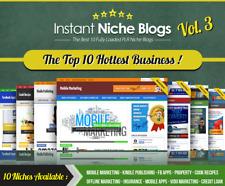 Instant Niche Plr Wordpress Blogs Volume 3 Top 10 Hottest Business