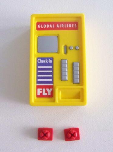 AEROPORT PLAYMOBIL C129 Guichet Automatique Billets 3186 3353 3886