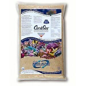 Carib Sea Caribsea Arag Alive Bahamas Oolite Aquarium Sand 10 Lbs