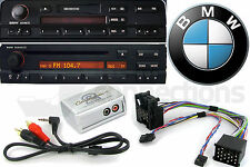 BMW 3 5 7 Series Z4 AUX in iPod iPhone MP3 player adapter interface E46 E39 E38