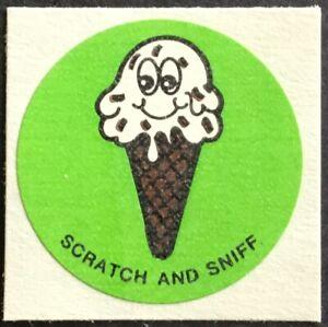 Coconut Excellent!! Vintage Scratch /& Sniff Stickers Mello Smello