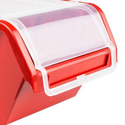 40 stck Wandregal 160x80 cm Stapelboxen Lagersystem Box mit Deckel