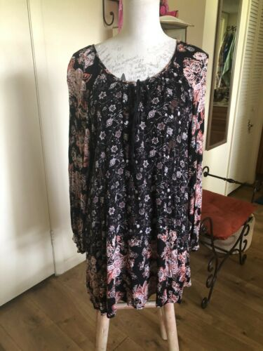 Free People Boho Gypsy Dress Sz M