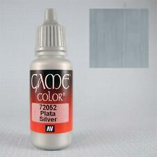 Vallejo Game Color: Silver  Paint ( 17 ml ) Val 72052
