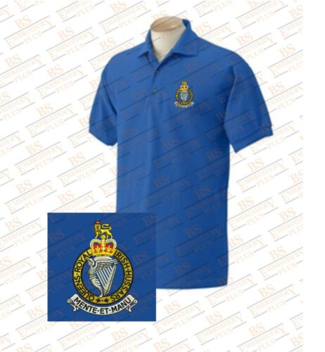Queen/'s Royal Irish Hussars  Embroidered Polo Shirts