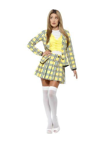 Clueless Cher Costume Movie Tv Fancy Dress Adult Costume 1990