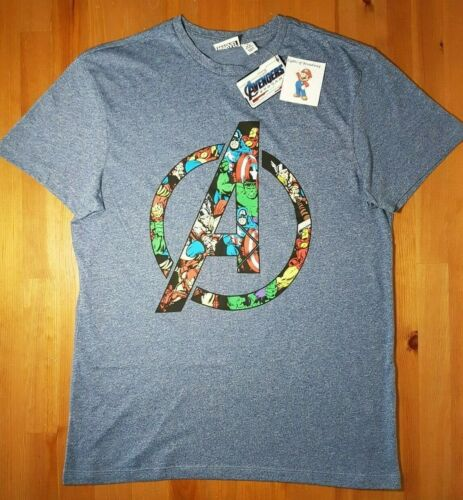 Primark Marvel Avengers Endgame T shirt Top Men/'s Boys Superheroes Official NEW