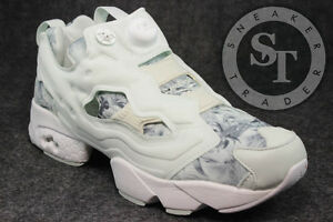 REEBOK CLASSICS INSTAPUMP FURY SEASONAL GRAPHIC PACK OPAL STEEL V69989 SZ 95