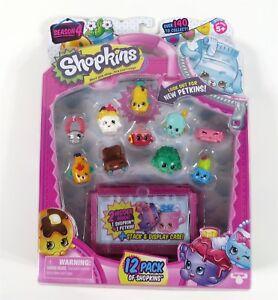 Shopkins-Season-4-12-pack-10-Brand-New-Sealed-Mystery-Figure-Ultra-Rare-Limited