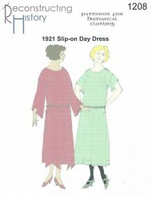Schnittmuster RH 1202 Paper Pattern 1921 Day Dress II