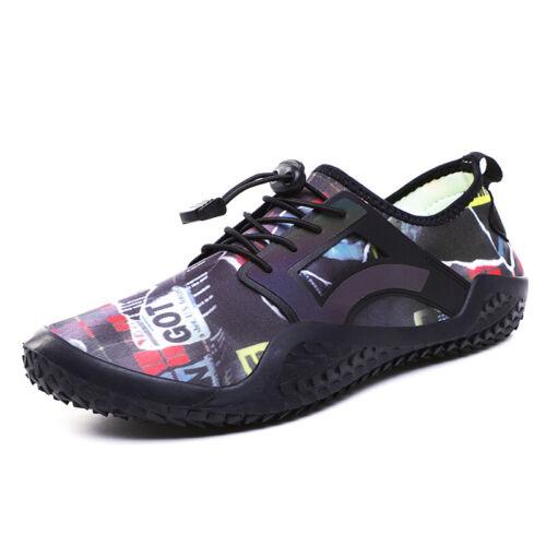 Mens Water Shoes Barefoot Skin Socks Quick Dry Aqua Beach Surf Sports Athletic